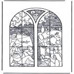 Dibujos de la Biblia - 5 prudentes y 5 necias