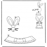 Temas - Adorno de huevo de Pascua 1