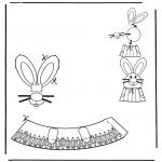 Temas - Adorno de huevo de Pascua 5