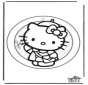 Adorno de ventana de Hello Kitty