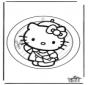 Adorno de ventana de Hello Kitty