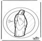 Adorno de ventana de Jesús