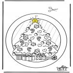 Navidad - Adorno de ventana de Navidad 2