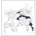 Personajes - Aladin y los fuegos de artificio