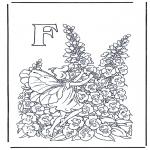 Diversos - Alfabeto F