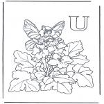 Diversos - Alfabeto U