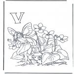 Diversos - Alfabeto V