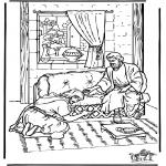 Dibujos de la Biblia - Ananías
