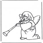Dibujos de la Biblia - Ángel