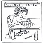 Dibujos Infantiles - Aprender a escribir