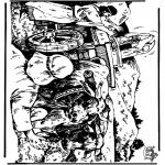 Dibujos de la Biblia - Arca de la Alianza