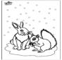 Ardilla y Conejo