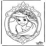Personajes - Ariel Princesa de Disney