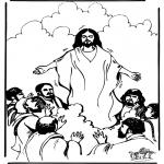 Dibujos de la Biblia - Ascensión 1
