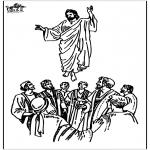 Dibujos de la Biblia - Ascensión 2