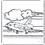 Diversos - Aterrizaje de avión