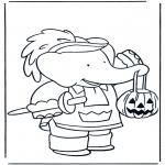 Temas - Babar en Halloween