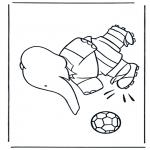 Dibujos Infantiles - Babar Juega al Fútbol