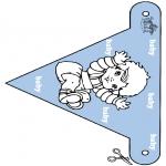 Temas - Banderita - bebé 2