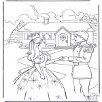 Personajes - Barbie y príncipe 2