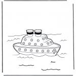 Diversos - Barco de vapor