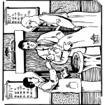 Láminas de la Biblia - Bautizo bíblico 1
