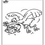 Temas - Bebé - cigüeña 1