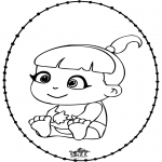 Temas - Bebé - Tarjeta perforada 2