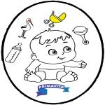Temas - Bebé - Tarjeta perforada 3