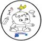 Bebé - Tarjeta perforada 3