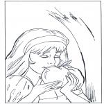 Diversos - Blancanieves come la manzana