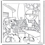 Dibujos Infantiles - Bob el Constructor 1