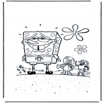 Dibujos Infantiles - Bob Esponja Avergonzado