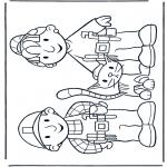 Dibujos Infantiles - Bob y Wendy