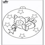 Navidad - Bola de Navidad - Ángel 2