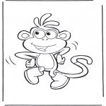 Dibujos Infantiles - Botas el mono