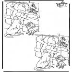 Manualidades - Busca las 10 diferencias 1