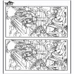 Dibujos de la Biblia - Busca las 10 diferencias - Jacob