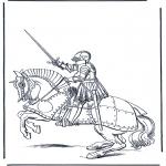Diversos - Caballero a caballo