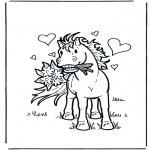 Animales - Caballo enamorado