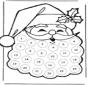 Calendario de adviento de Papá Noel