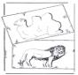 Camello y león