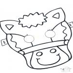 Tarjetas perforadas - Careta perforada 5