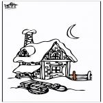 Invierno - Casa en la nieve 3