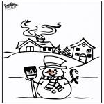 Invierno - Casa en la nieve 4
