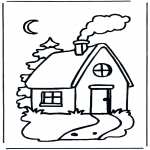 Dibujos Infantiles - Casita infantil