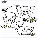 Animales - Cerdos 4