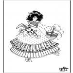 Dibujos Infantiles - Chica 1
