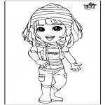 Dibujos Infantiles - Chica 3