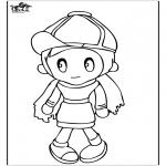 Dibujos Infantiles - Chica 4